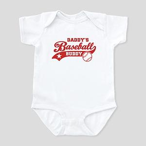 Daddy's Baseball Buddy Infant Bodysuit