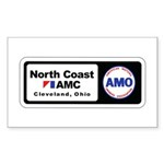North Coast AMC Rectangle Sticker