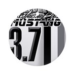 mustang 3 7 Ornament (Round)