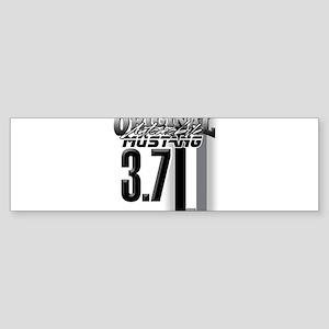 mustang 3 7 Bumper Sticker