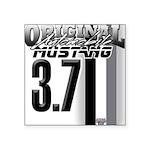 mustang 3 7 Sticker