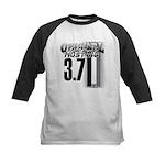 mustang 3 7 Baseball Jersey