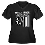 mustang 3 7 Plus Size T-Shirt