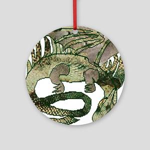 Dreaming Dragon Ornament (Round)