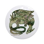 Dreaming Dragon Ornament (Round)