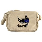 Ada Mascot Logo Messenger Bag