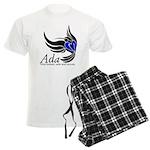 Ada Mascot Logo Men's Light Pajamas