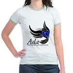 Ada Mascot Logo Jr. Ringer T-Shirt