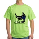 Ada Mascot Logo Green T-Shirt