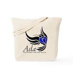 Ada Mascot Logo Tote Bag