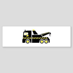 Tow Truck Bumper Sticker