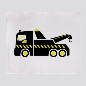 Tow Truck Throw Blanket