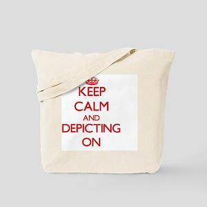 Depicting Tote Bag