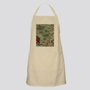 Antique Map Apron