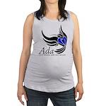 Ada Mascot Logo Maternity Tank Top