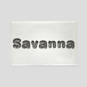 Savanna Wolf Rectangle Magnet