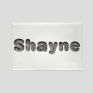Shayne Wolf Rectangle Magnet