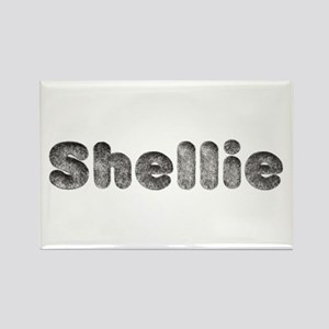 Shellie Wolf Rectangle Magnet