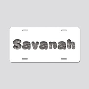 Savanah Wolf Aluminum License Plate