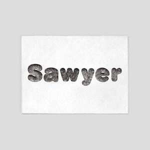 Sawyer Wolf 5'x7' Area Rug