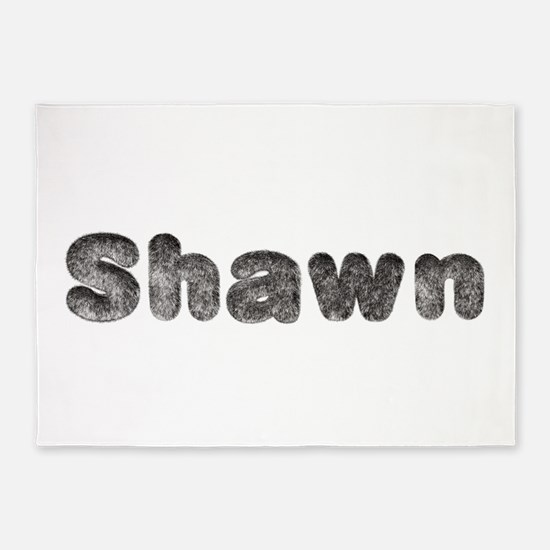 Shawn Wolf 5'x7' Area Rug