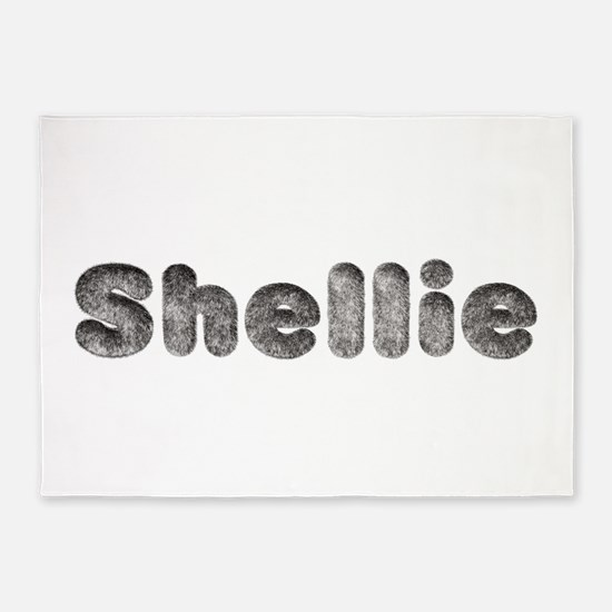 Shellie Wolf 5'x7' Area Rug