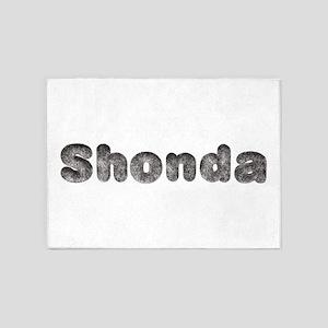 Shonda Wolf 5'x7' Area Rug