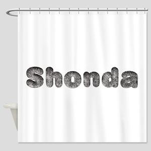 Shonda Wolf Shower Curtain
