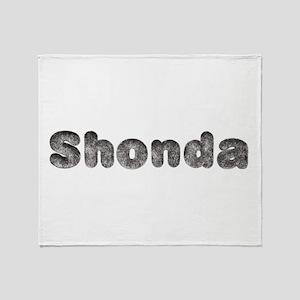 Shonda Wolf Throw Blanket
