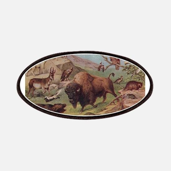 Unique Buffalo Patch