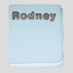 Rodney Wolf baby blanket