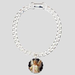 Guardian Angel Charm Bracelet, One Charm