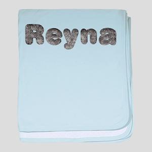 Reyna Wolf baby blanket