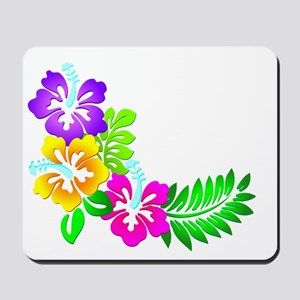 Tropical Hibiscus Mousepad