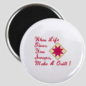 Lifes Scraps Quilting Magnets