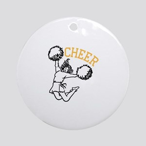 Cheer Ornament (Round)