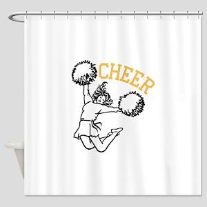 Cheer Shower Curtain