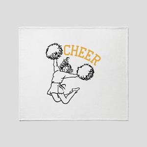 Cheer Throw Blanket