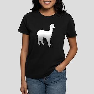 Standing Alpaca Women's Dark T-Shirt