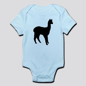 Standing Alpaca Infant Bodysuit
