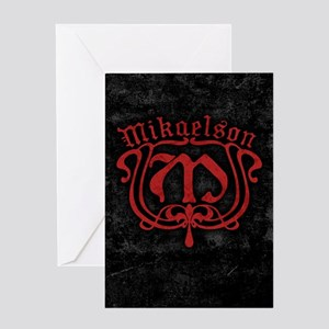 Mikaelson Original Vampire Diaries Greeting Cards