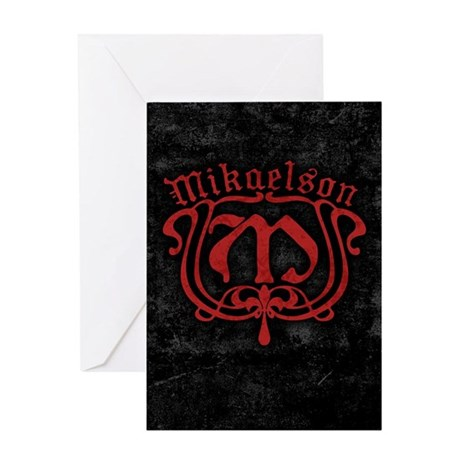 Mikaelson Original Vampire Diaries Greeting Cards By Movieandtvtees