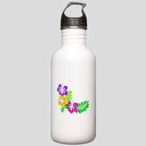Tropical Hibiscus Stainless Water Bottle 1.0L