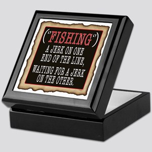 FISHING JERK Keepsake Box