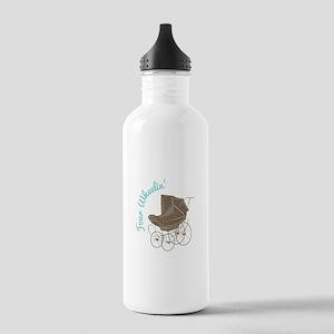 Four Wheelin Water Bottle