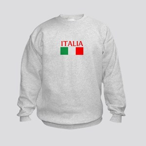 ITALIA FLAG Kids Sweatshirt