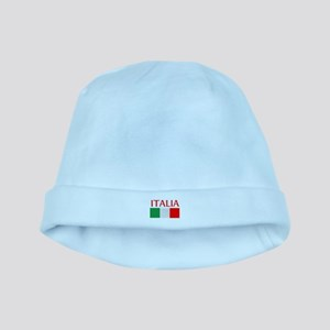 ITALIA FLAG baby hat