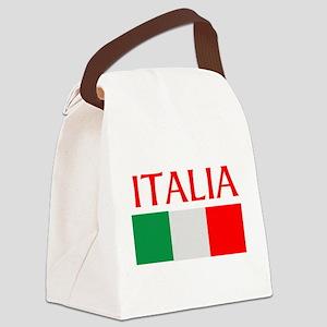 ITALIA FLAG Canvas Lunch Bag