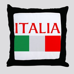 ITALIA FLAG Throw Pillow