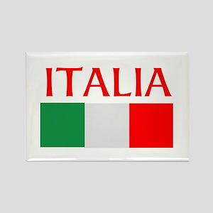 ITALIA FLAG Rectangle Magnet